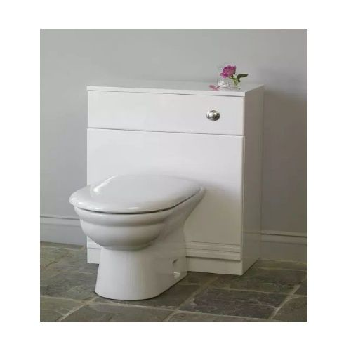 Eastbrook Bonito Wc Unit - 660mm Wide - White
